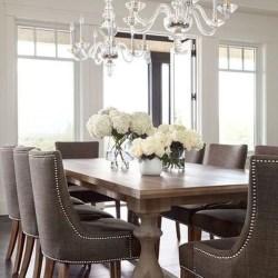 Elegant Dining Room Design Decorations02