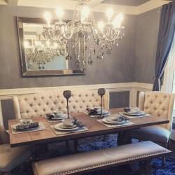 Elegant Dining Room Design Decorations04