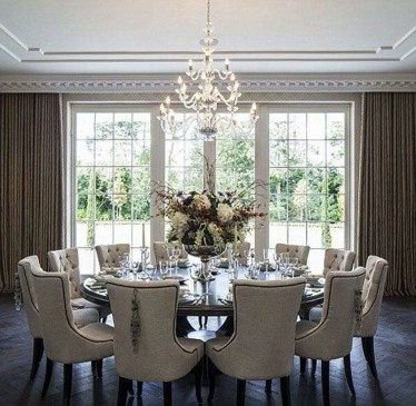 Elegant Dining Room Design Decorations28