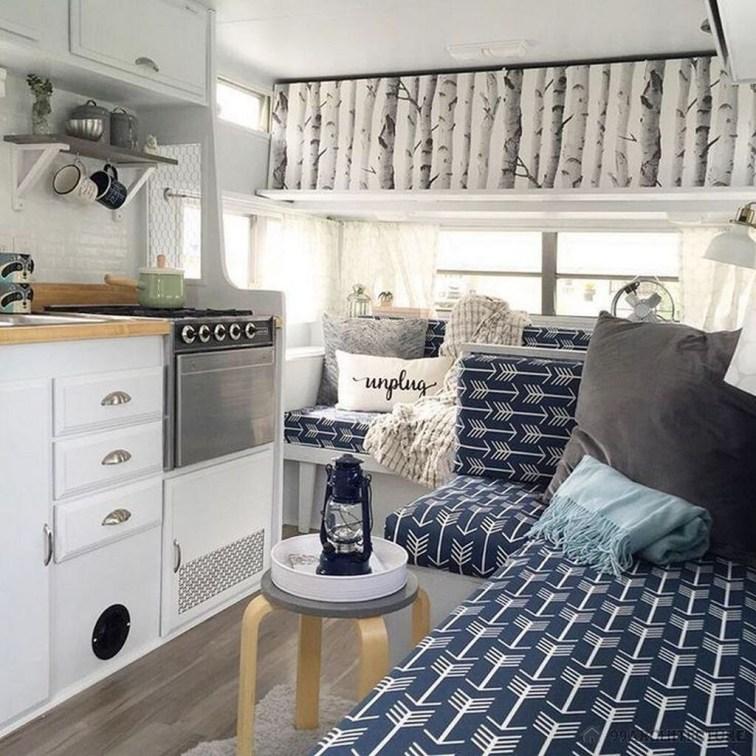 Fantastic Rv Camper Interior Ideas18