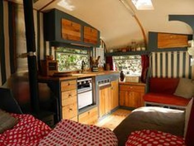 Fantastic Rv Camper Interior Ideas25