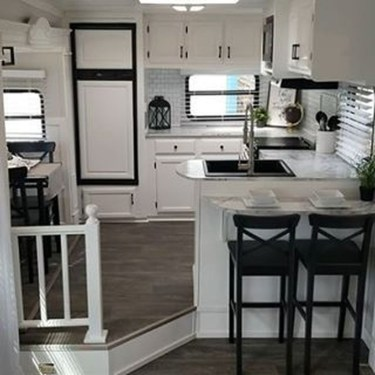 Fantastic Rv Camper Interior Ideas30