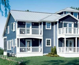Ideas To Make Your Home Look Elegant With Vinyl Siding Color23