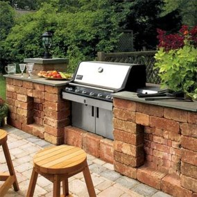 Inspire Ideas To Make Bricks Blocks Look Awesome In Your Home14