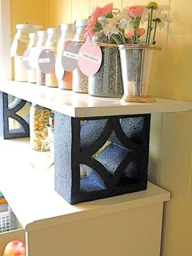 Inspire Ideas To Make Bricks Blocks Look Awesome In Your Home27