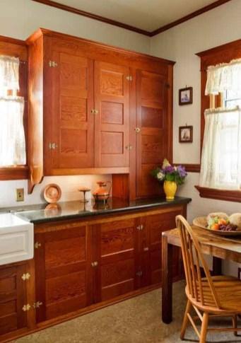 Inspiring Farmhouse Style Kitchen Cabinets Design Ideas30