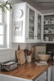 Inspiring Farmhouse Style Kitchen Cabinets Design Ideas31