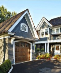 Inspiring Home Garage Door Design Ideas Must See29