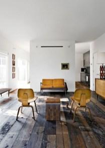 Inspiring Rustic Wooden Floor Living Room Design09