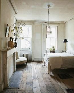 Inspiring Rustic Wooden Floor Living Room Design26