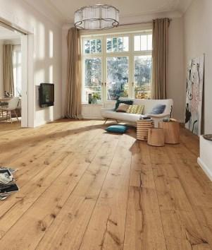 Inspiring Rustic Wooden Floor Living Room Design42