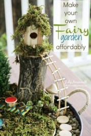 Stunning Fairy Garden Miniatures Project Ideas12