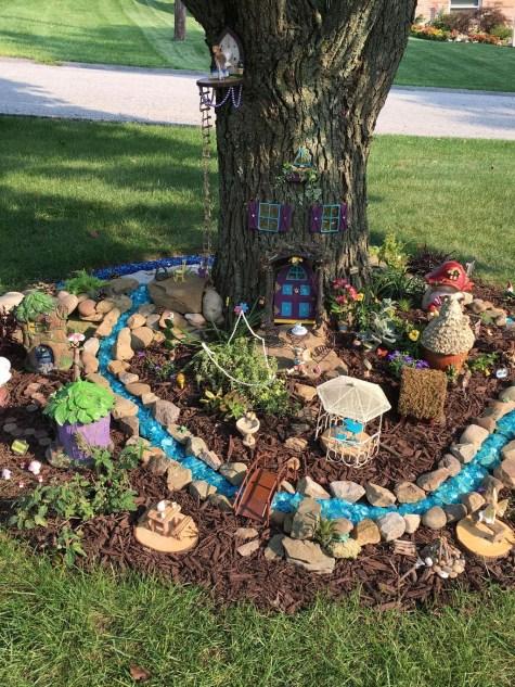 Stunning Fairy Garden Miniatures Project Ideas17