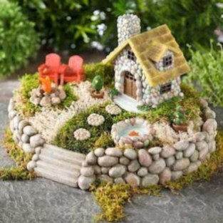 Stunning Fairy Garden Miniatures Project Ideas19