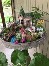 Stunning Fairy Garden Miniatures Project Ideas33