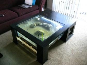 Amazing Aquarium Feature Coffee Table Design Ideas31