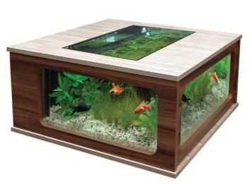 Amazing Aquarium Feature Coffee Table Design Ideas45