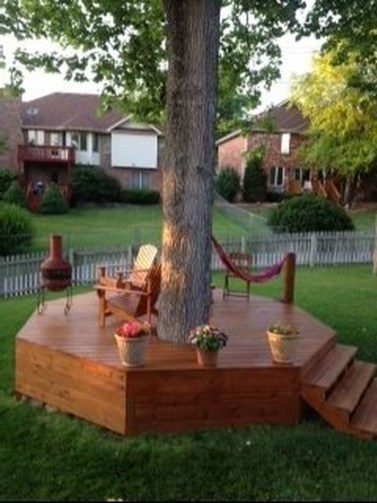 Amazing Big Tree Landscaping Ideas31