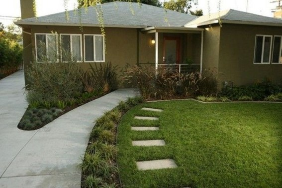 Amazing Grass Landscaping For Home Yard18