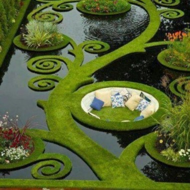 Amazing Grass Landscaping For Home Yard32