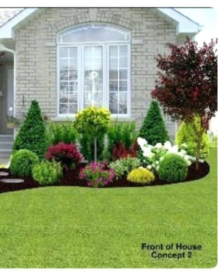 Amazing Grass Landscaping For Home Yard33