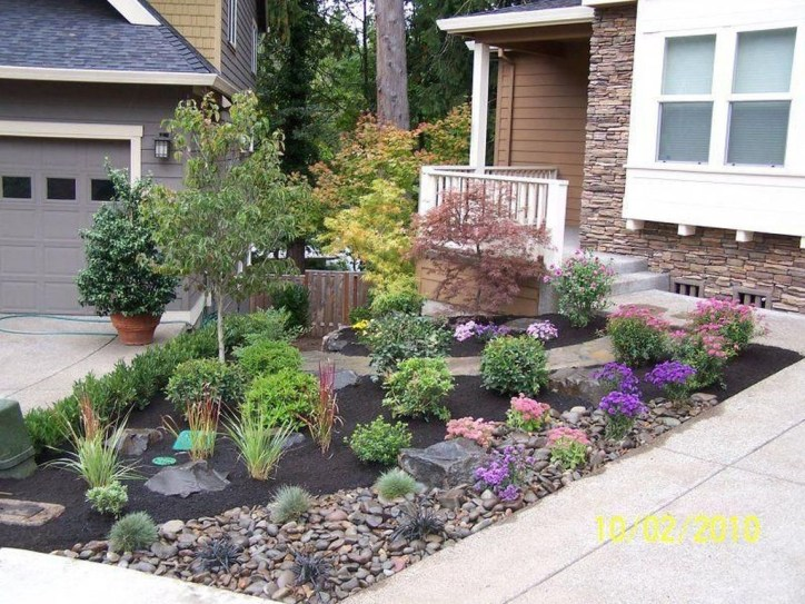 Amazing Grass Landscaping For Home Yard37