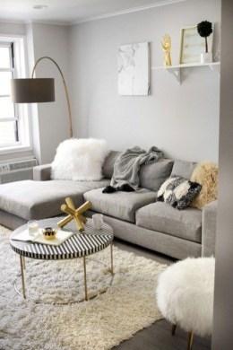 Amazing Small Apartment Living Room 16