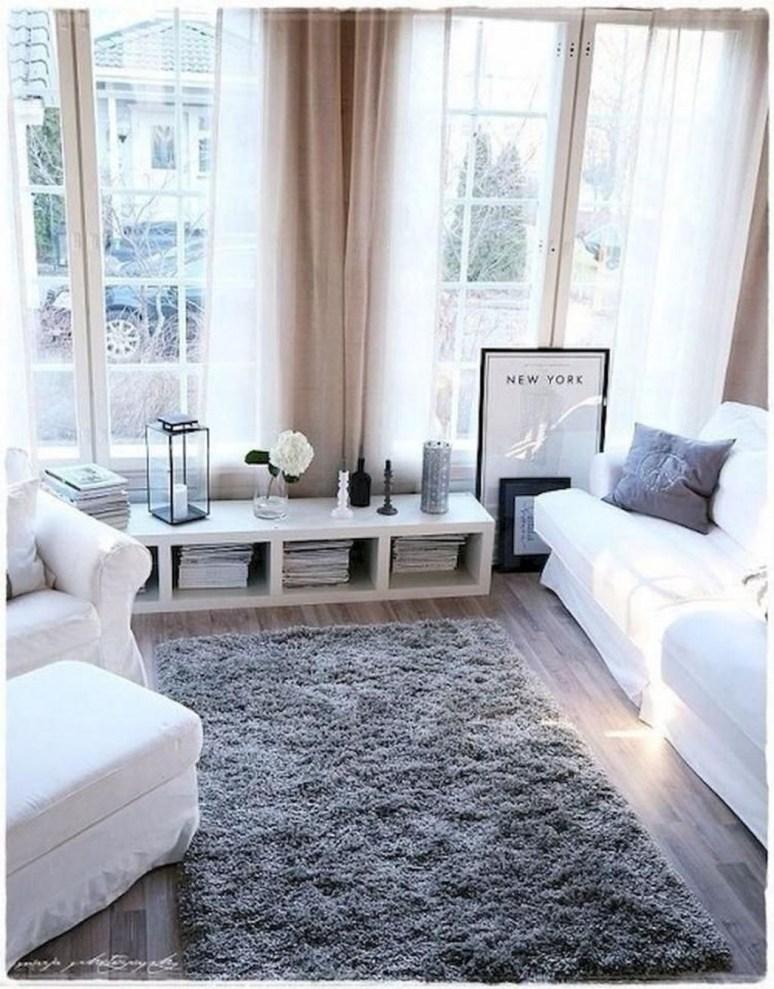 Amazing Small Apartment Living Room 36