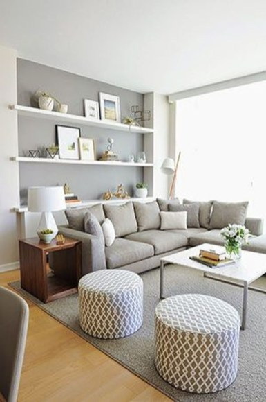 Amazing Small Apartment Living Room 40