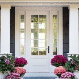 Awesome Front Door Planter Ideas27