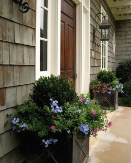 Awesome Front Door Planter Ideas33