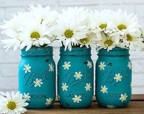 Awesome Ideas To Make Glass Jars Garden For Your Home Decor14