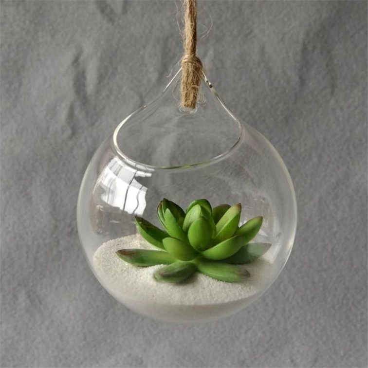 Awesome Ideas To Make Glass Jars Garden For Your Home Decor33