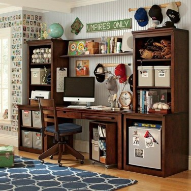 Awesome Study Room Ideas For Teens22