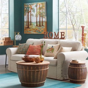 Awesome Teal Color Scheme For Fall Decor Ideas01