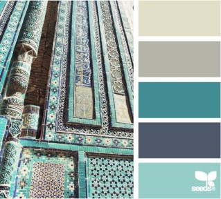 Awesome Teal Color Scheme For Fall Decor Ideas30
