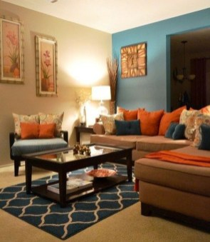 Awesome Teal Color Scheme For Fall Decor Ideas32