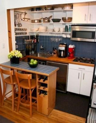 Brilliant Small Apartment Kitchen Ideas16