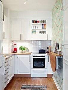 Brilliant Small Apartment Kitchen Ideas20