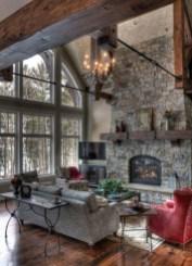 Inspiring Rustic Livingroom Decorations Home38