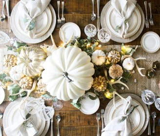 Inspiring Thanksgiving Centerpieces Table Decorations03