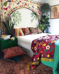 Inspiring Vintage Bohemian Bedroom Decorations02