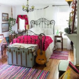 Inspiring Vintage Bohemian Bedroom Decorations05