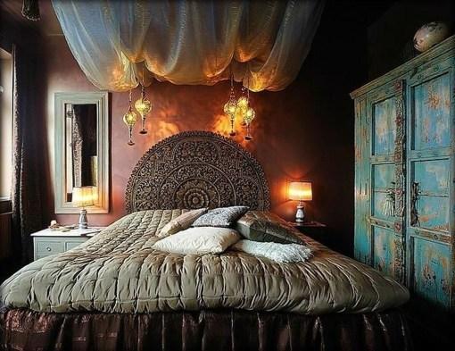 Inspiring Vintage Bohemian Bedroom Decorations08