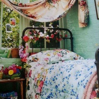 Inspiring Vintage Bohemian Bedroom Decorations13
