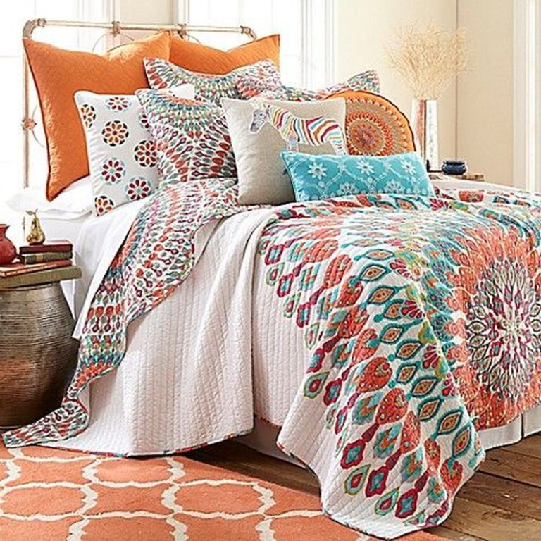 Inspiring Vintage Bohemian Bedroom Decorations34