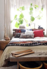 Inspiring Vintage Bohemian Bedroom Decorations40