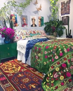 Inspiring Vintage Bohemian Bedroom Decorations45
