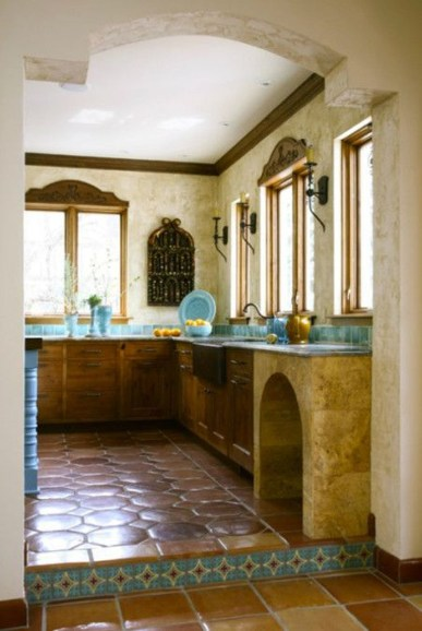Lovely Rustic Western Style Kitchen Decorations Ideas 17