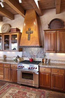 Lovely Rustic Western Style Kitchen Decorations Ideas 28
